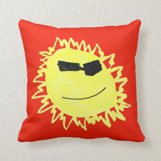ALOHA SUNSHINE! Pillon in RED Cushion