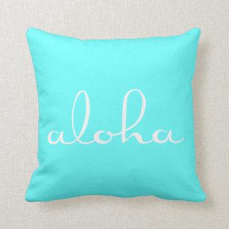 Aloha! Throw Pillow