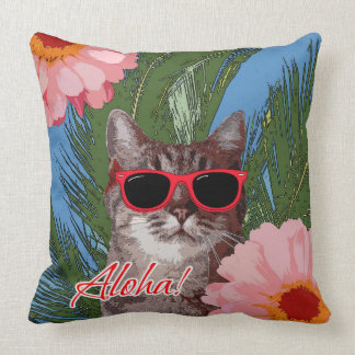 "Aloha Throw Pillow 20"" x 20"""