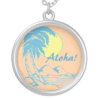 Aloha Tropical Hawaiian Design Custom Jewelry