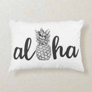 aloha tropical pineapple accent pillow home decor