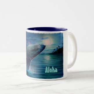 Aloha Two-Tone Coffee Mug