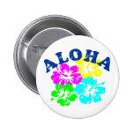 Aloha Vintage 6 Cm Round Badge