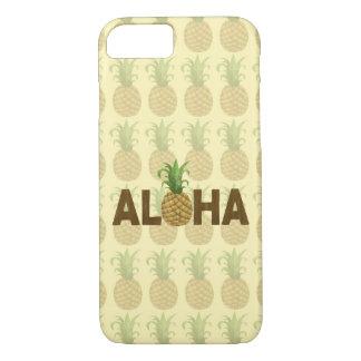 Aloha Vintage Pineapple Hawaiian Hawaii iPhone 8/7 Case
