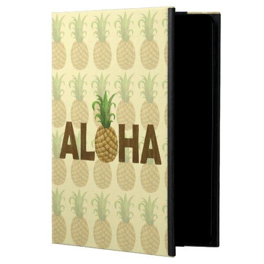 Aloha Vintage Pineapple Hawaiian Hawaii Powis iPad Air