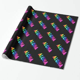 Aloha Wrapping Paper