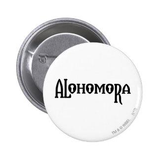 Alohomora 6 Cm Round Badge