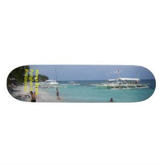 Alona Beach, Panglao Is. Bohol, Philippines Skate Board Decks