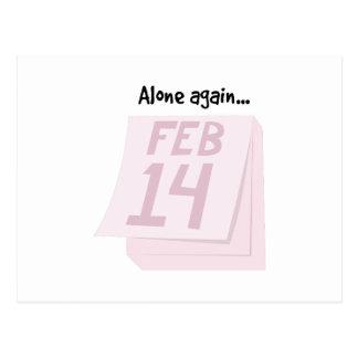 Alone Again Postcard