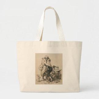 Alone at Last Enfin Seuls World War I Drawing Jumbo Tote Bag