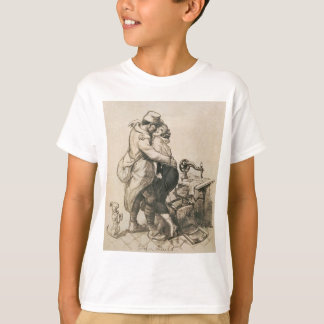 Alone at Last Enfin Seuls World War I Drawing T-Shirt