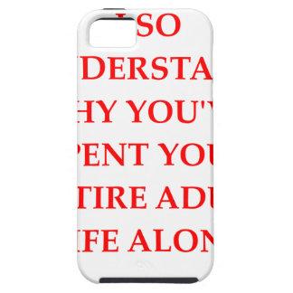 alone iPhone 5 case