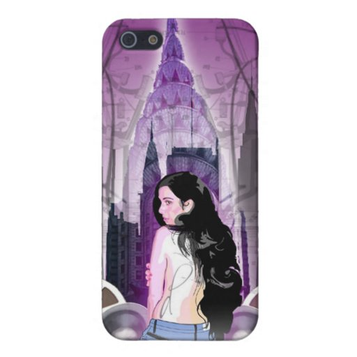 Alone in the Big city of Sound iPhone 5 Cover