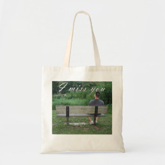 Alone on a Park Bench Bag