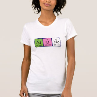 Alone periodic table word shirt