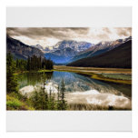 Along The Icefield Parkway Poster