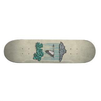 Along the Way 19.7 Cm Skateboard Deck