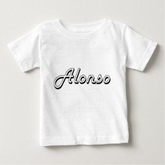 Alonso Classic Retro Name Design Infant T-Shirt