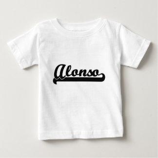 Alonso Classic Retro Name Design Tee Shirts