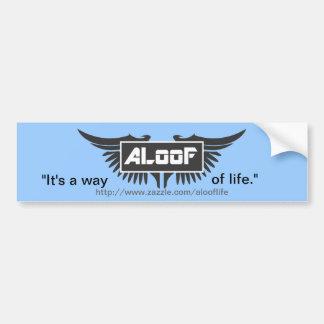 "ALooF - ""It's a way of life"" Bumper Sticker"