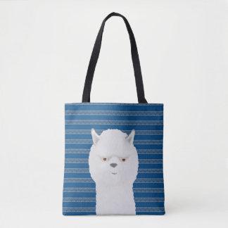 Alpaca Allover Tote Bag