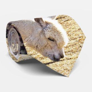 Alpaca and Llama animals Tie