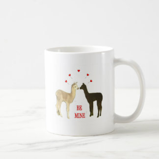 Alpaca be mine Valentine Coffee Mug