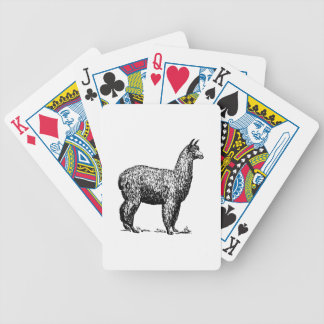Alpaca Bicycle Playing Cards