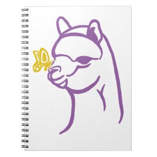 Alpaca & Butterfly Notebook