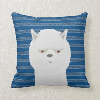 "Alpaca Cotton Throw Pillow, Throw Pillow 16"" x 16"""