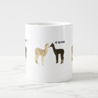 Alpaca Cria Giant Coffee Mug