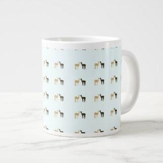 Alpaca Crias Meet Large Coffee Mug
