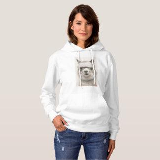 Alpaca Hooded Sweatshirt
