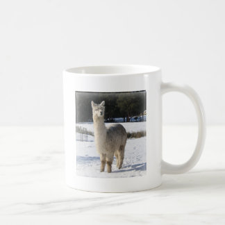 Alpaca In the Snow Coffee Mug