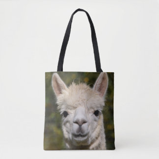 Alpaca Llama Photography Tote Bag