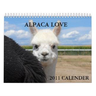 ALPACA LOVE 2011 CALENDER CALENDARS