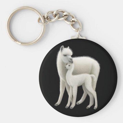 Alpaca Love Keychain