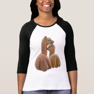 Alpaca Love Ladies Raglan Jersey Tees