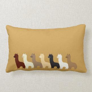 Alpaca Lumbar Pillow