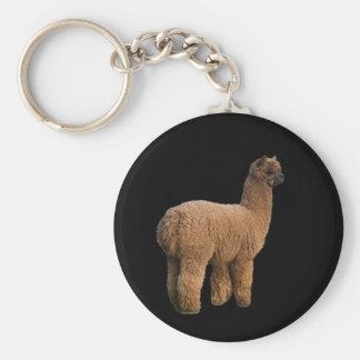 Alpaca Magic Keychain
