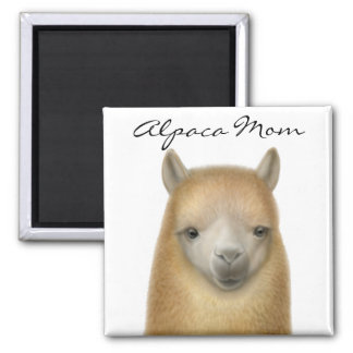 Alpaca Mom Magnet