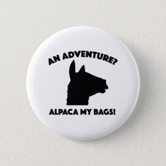 Alpaca My Bags 6 Cm Round Badge