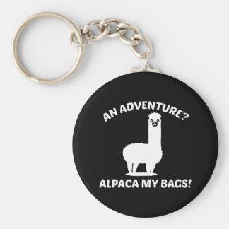 Alpaca My Bags Key Ring