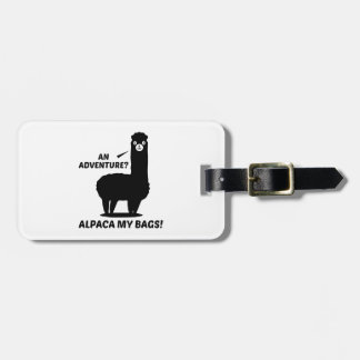 Alpaca My Bags Luggage Tag