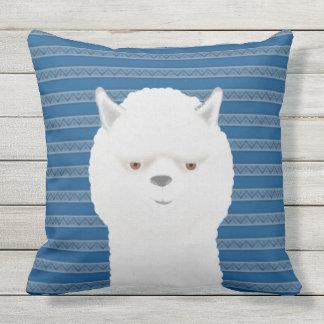 "Alpaca Outdoor Throw Pillow, Throw Pillow 20"" x 20"