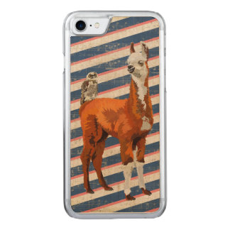 ALPACA & OWL  Carved iPhone Carved iPhone 7 Case