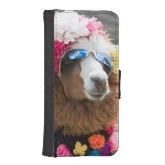 Alpaca, Pachacoto, Cordillera Blanca, Ancash iPhone SE/5/5s Wallet Case