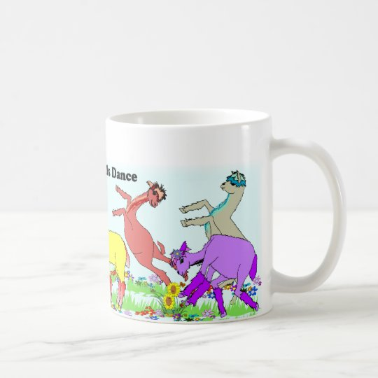 Alpaca Pals Dance Coffee Mug