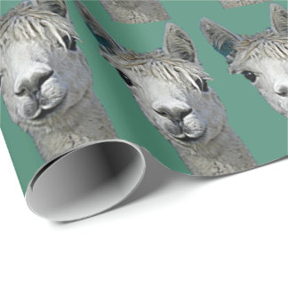 Alpaca Paper Wrapping Paper