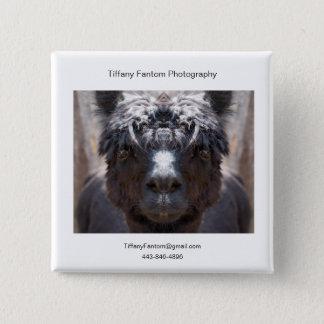 Alpaca Promo Piece 15 Cm Square Badge